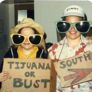 Judy Wey & Cindy Bandemer 1981