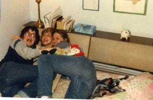 Sue Howe, Karen Rupprecht & Cindy Bandemer 1981
