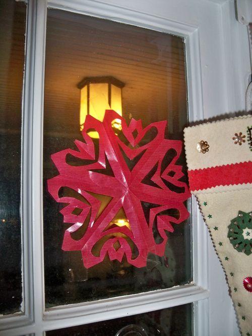 Kite Paper Snowflakes