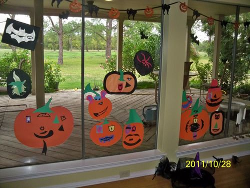 Whacky pumpkin patch