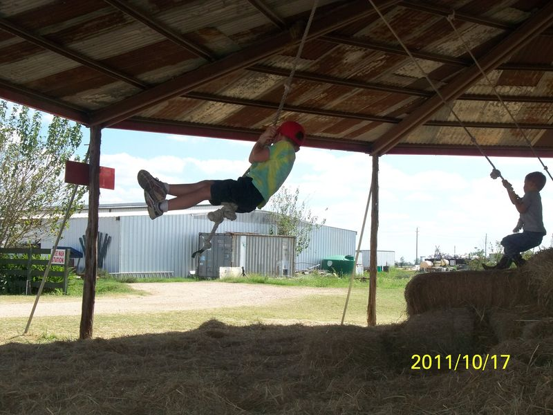 Dewberry Farm Hay Barn