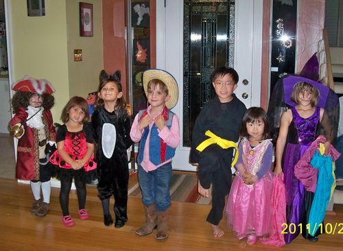 Costume Line Up