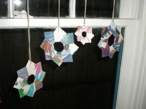 Origami Wreath (large)