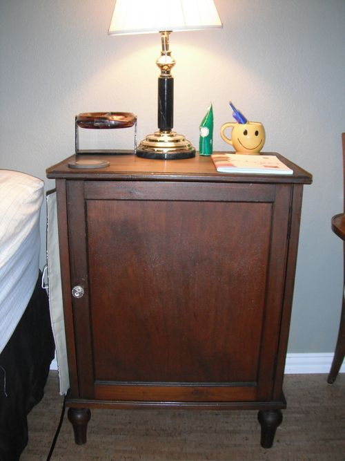 Bedside caddy and nightstand