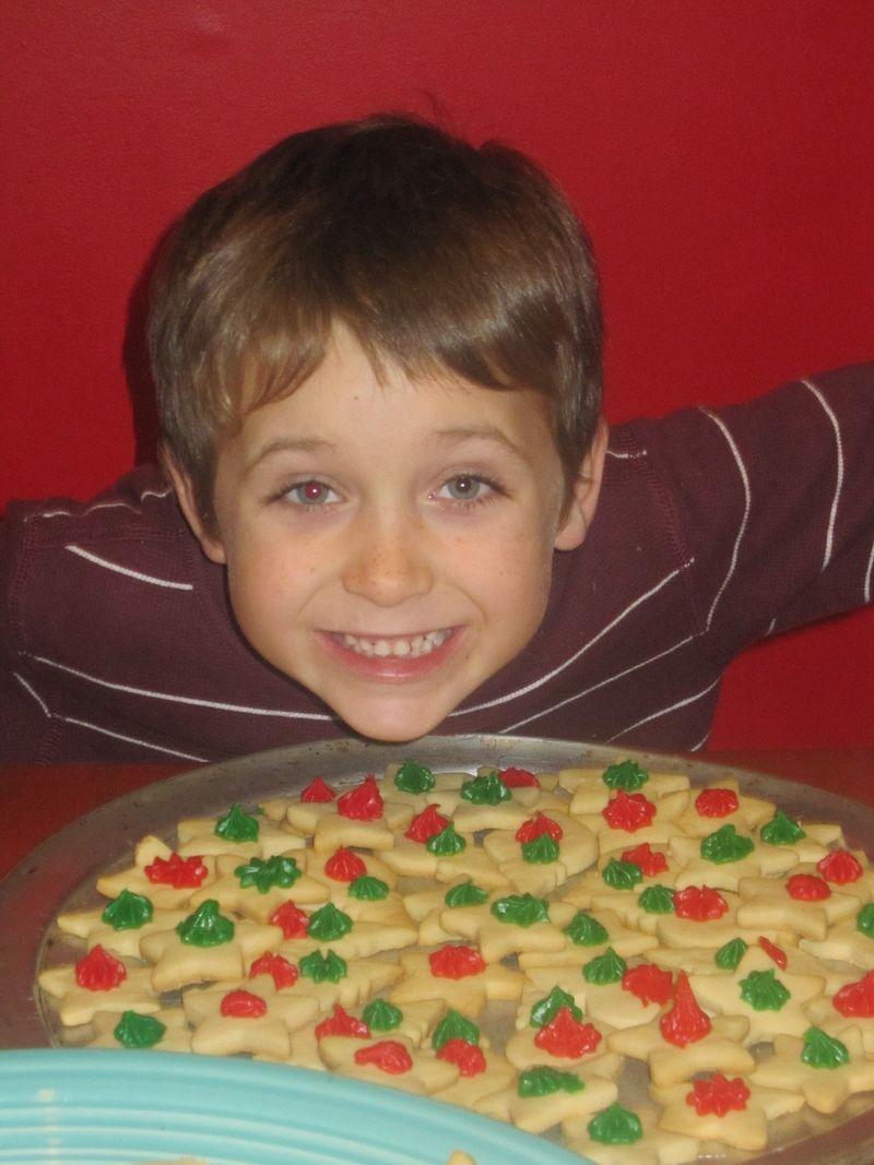 Christmas Cookies & Silas