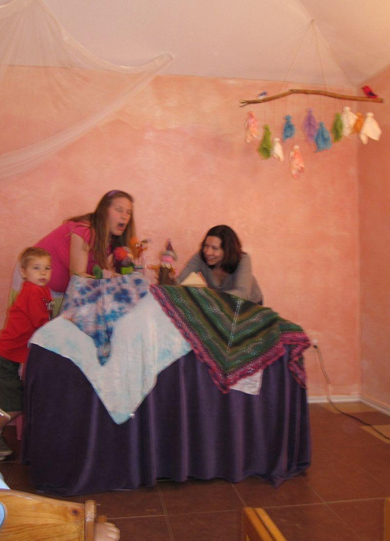 Winter Faire Puppet Show