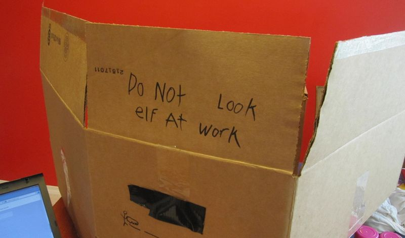 Elf at Work