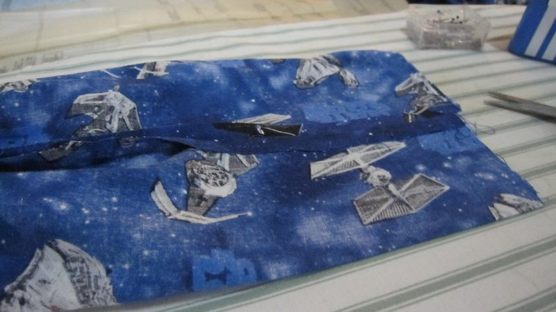 Star Wars Pants In Process